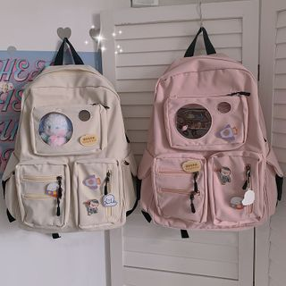 BANGGIRL - Nylon Multi Pouch Backpack