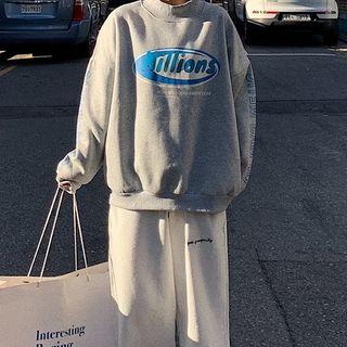 Lololulu - Print Long-Sleeve Hooded Sweatshirt