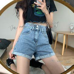 Whoosh(ウーシュ) - Denim Shorts