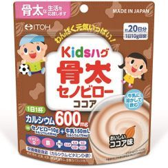 ITOH - Kids Hug - Honebuto Senobiro Cocoa Powder