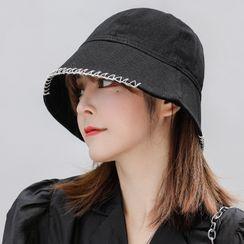 Jiggon - 纯色渔夫帽