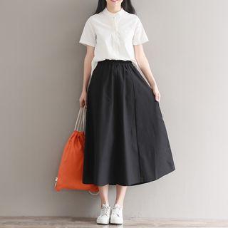 Sulis - Set: Short-Sleeve/Long-Sleeve/Dolman-Sleeve Shirt + Skirt