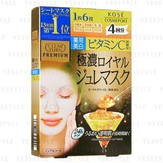Kose - Clear Turn Premium Whitening Royal Gelee Mask