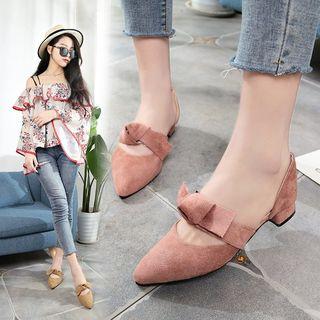 Yoflap - Bow Block Heel Sandals