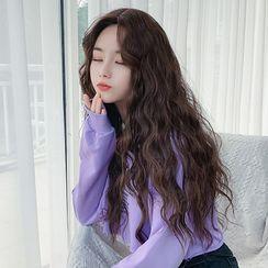 SEVENQ - 捲曲長款假髮