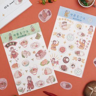 Little Planet - Food Cartoon Sticker