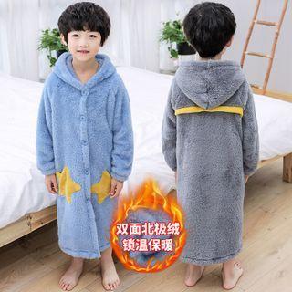 PAM - Kids Hooded Fleeced Pajama Robe