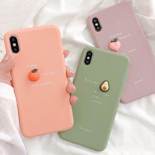 Primitivo - 3D水果手机保护壳 - iPhone 6 / 6s / Plus / iPhone 7 / Plus / iPhone 8 / Plus / iPhone SE / iPhone X / iPhone11 / iPhone11 Pro / Max