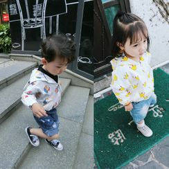 Ohori - 小童印花連帽夾克