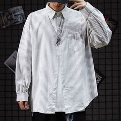 COLOSSUS - Long-Sleeve Striped Shirt