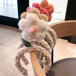 Miss Floral - 抓毛花朵头箍