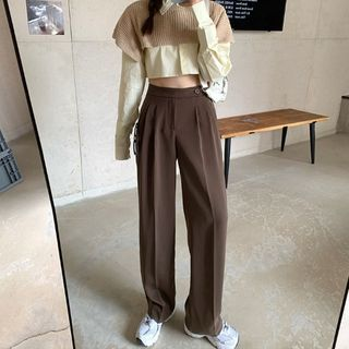 GOUB - 直筒西装长裤