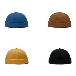 Heloi - Plain Brimless Hat