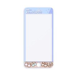 YUPIN - Printed Tempered Glass Screen Protector Film - iPhone 8 / 8 Plus / 7 / 7 Plus / 6s / 6s Plus