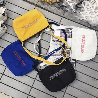 SUNMAN - Embroidered Canvas Tote Bag