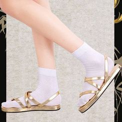 Comic Closet - Touken Ranbu Mikazuki Munechika Cosplay Sandals / Split Toe Socks