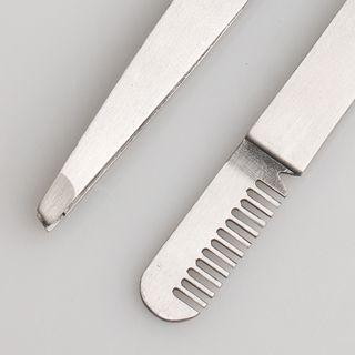 Mogugu - Tweezers with Eyebrow Comb