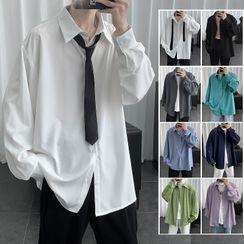 FOEV(フォエヴ) - Plain Shirt