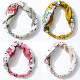 Lusweet - Printed Knot Headband