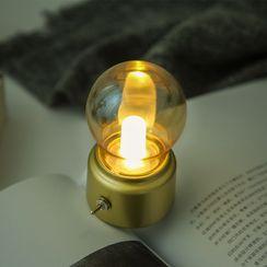 Jun's Journal - USB復古燈泡夜燈