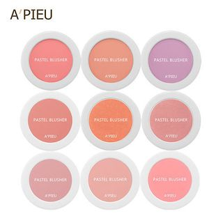 A'PIEU - Pastel Blusher, blush (15 couleurs)