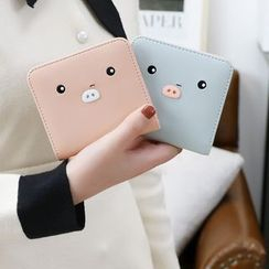 Hokkaisan - Pig Faux Leather Wallet