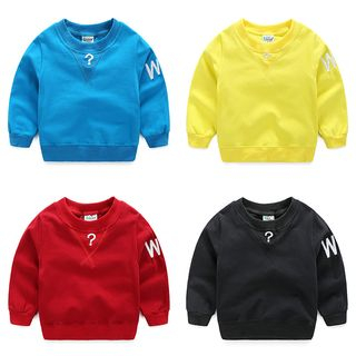 WellKids - Kids Embroidery Pullover