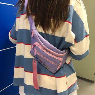 Beamie - Dinosaur Embroidered Sling Bag