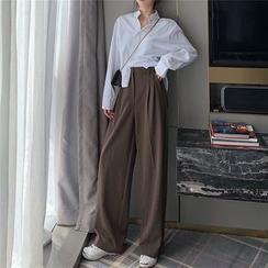 Tahah - High Waist Wide-Leg Pants