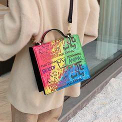Kunado - Lettering Crossbody Bag