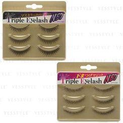 LUCKY TRENDY - Triple Eyelash