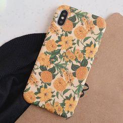 Primitivo - Floral Print Phone Case - iPhone 11 Pro Max / 11 Pro / 11 / XS Max / XS / XR / X / 8 / 8 Plus / 7 / 7 Plus / 6s / 6s Plus