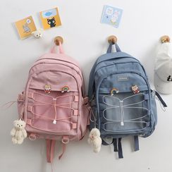 MUSA - Mesh Pocket Plain Backpack