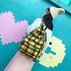 Auree - Plaid Backpack