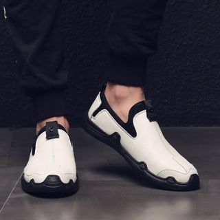 Junster  - Genuine Leather Slip-Ons