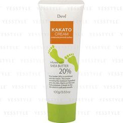 KUMANO COSME - Deve Kakato Cream With Shea Butter 20%