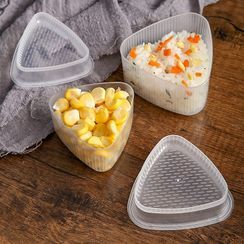 Porcini - Triangular Plastic Rice Ball Mold