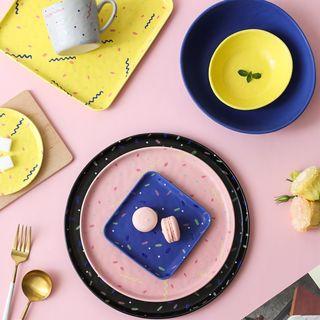 Kawa Simaya - Printed Matte Ceramic Plate / Bowl / Cup