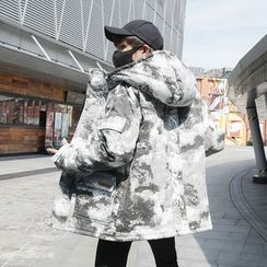 Bay Go Mall - Camouflage Hooded Padded Jacket