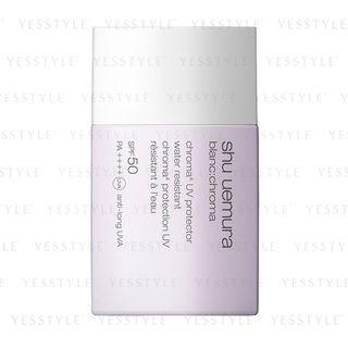 植村秀 - Blanc:Chroma UV Protector SPF 50 PA++++