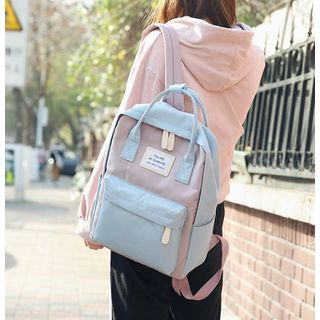 Willow Bloom - Square Lightweight Backpack