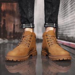 WeWolf - 真皮系带短靴