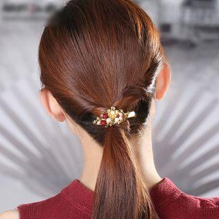 Gangnam - Beaded Flower Hair Clip