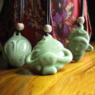 Townlet - 陶瓷動物吊墜項鏈