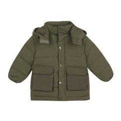 Pluie - 小童连帽夹棉大衣