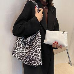 Youshine - Zebra Print Canvas Tote Bag