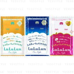 LuLuLun - One Night Rescue Face Mask 1 pc - 3 Types