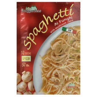 Grainee Foods - Borggardens Spaghetti Al Funghi with Mushroom Sauce