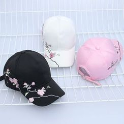 Buttercap - Flower Embroidered Baseball Cap