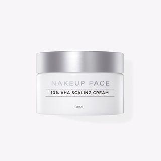 NAKEUP FACE - 10% AHA Scaling Cream 30ml